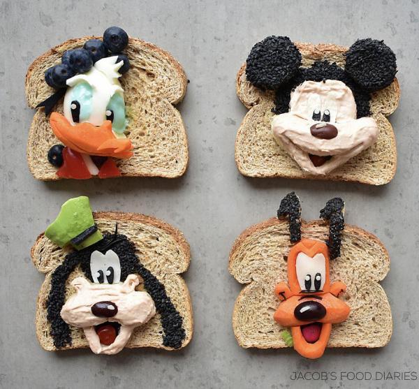 Sửng sốt trước những món ăn tuyệt đẹp được lấy cảm hứng từ các nhân vật hoạt hình - Ảnh 4.