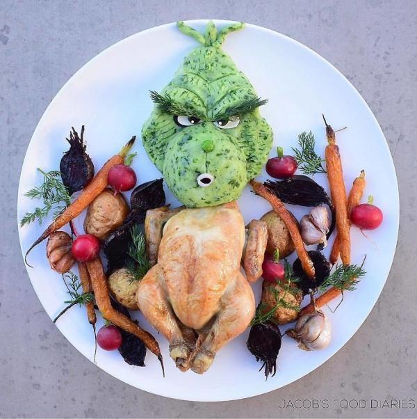 Sửng sốt trước những món ăn tuyệt đẹp được lấy cảm hứng từ các nhân vật hoạt hình - Ảnh 8.