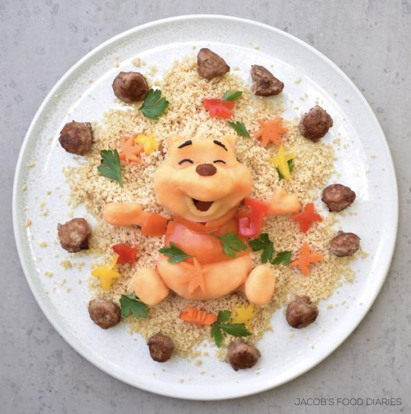 Sửng sốt trước những món ăn tuyệt đẹp được lấy cảm hứng từ các nhân vật hoạt hình - Ảnh 9.
