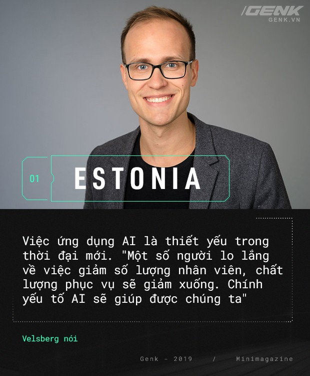 Chào mừng bạn đến với Estonia - nơi quan tòa không phải là con người - Ảnh 1.