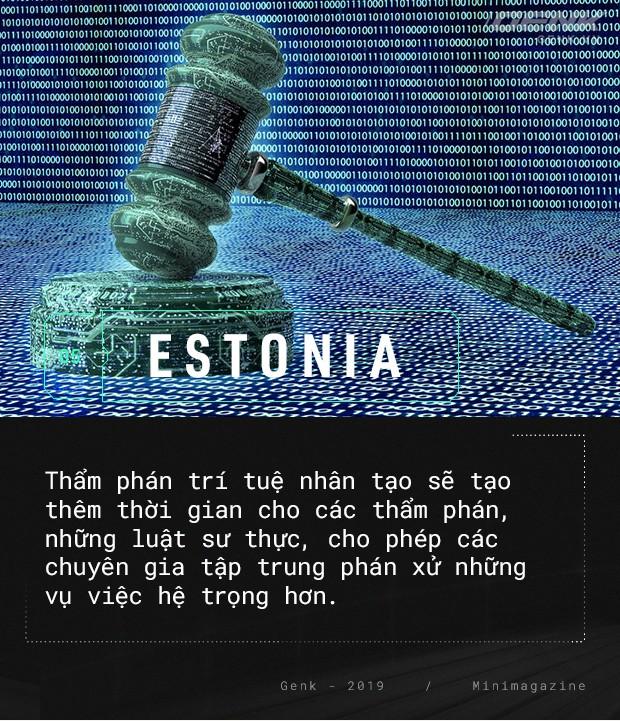 Chào mừng bạn đến với Estonia - nơi quan tòa không phải là con người - Ảnh 9.