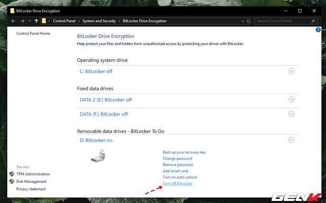 Cách sử dụng tính năng đặt password để bảo vệ dữ liệu trên USB có sẳn ở Windows 10 - Ảnh 13.