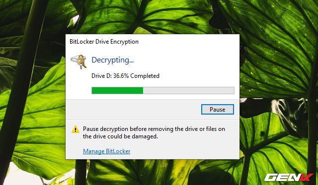 Cách sử dụng tính năng đặt password để bảo vệ dữ liệu trên USB có sẳn ở Windows 10 - Ảnh 15.