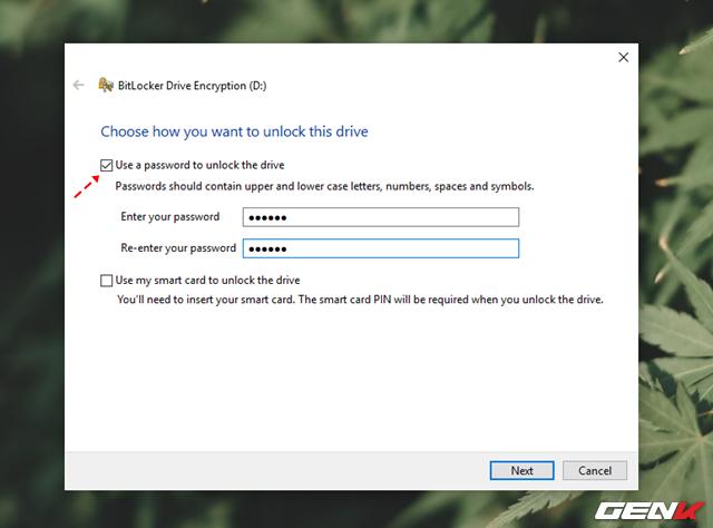 Cách sử dụng tính năng đặt password để bảo vệ dữ liệu trên USB có sẳn ở Windows 10 - Ảnh 4.