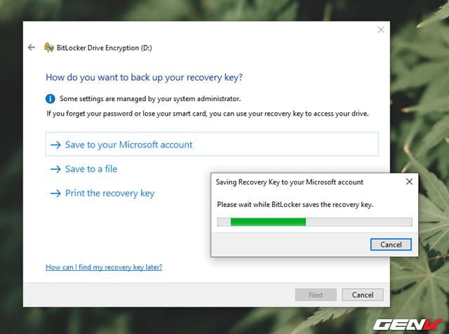 Cách sử dụng tính năng đặt password để bảo vệ dữ liệu trên USB có sẳn ở Windows 10 - Ảnh 6.