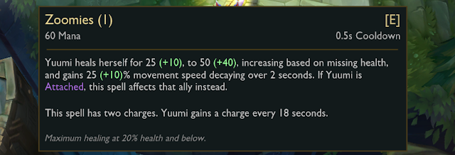 LMHT: Thông số chi tiết bộ kỹ năng của tướng mới Yuumi - Chú mèo ma thuật - Ảnh 10.