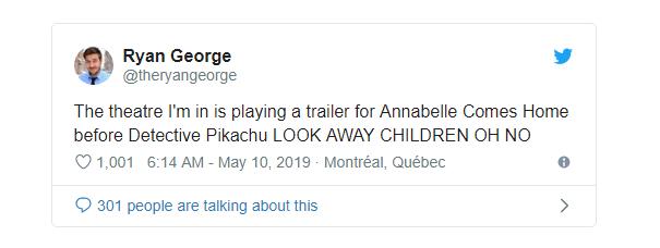 Chiếu nhầm phim kinh dị thay vì Detective Pikachu, rạp phim Canada khiến cả trăm cháu nhỏ khóc thét - Ảnh 1.