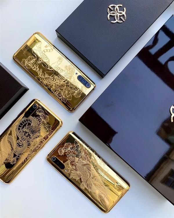 Xiaomi Mi 9 sắp có thêm phiên bản mạ vàng nguyên chất 24K - Ảnh 1.