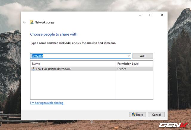 Mẹo chia sẻ nhanh dữ liệu ngay từ File Explorer trên Windows 10 - Ảnh 13.