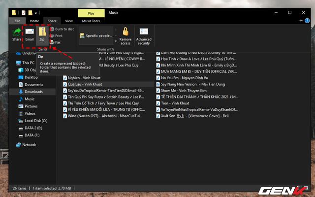 Mẹo chia sẻ nhanh dữ liệu ngay từ File Explorer trên Windows 10 - Ảnh 5.