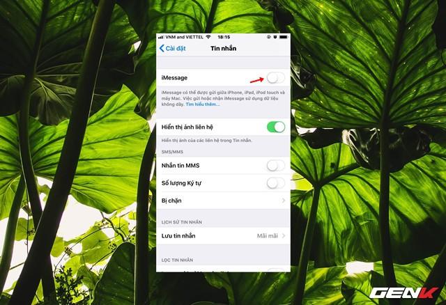 Gợi ý khắc phục lỗi không thể gửi được tin nhắn iMessage trên iPhone - Ảnh 10.