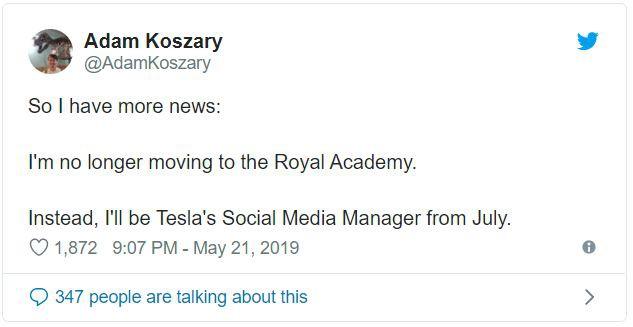 Tesla thuê anh chàng đứng sau meme absolute unit về làm quản lý mạng xã hội của mình - Ảnh 3.