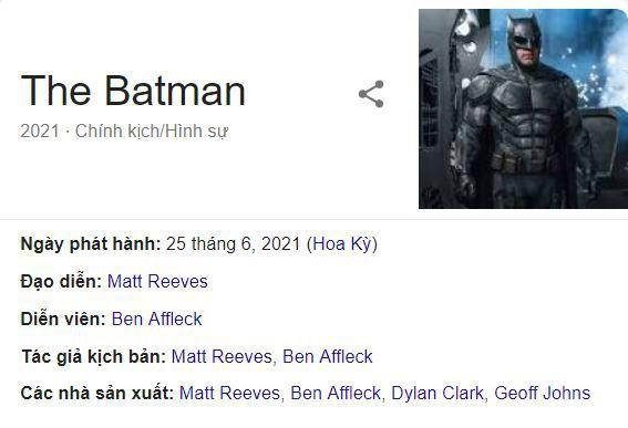 Cú lừa: Ben Affleck nghỉ vai BATMAN để nhảy sang làm đạo diễn BATMAN? - Ảnh 2.