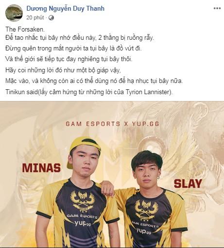 LMHT: Cặp đôi Minas - Slay CHÍNH THỨC gia nhập GAM Esports - Ảnh 4.
