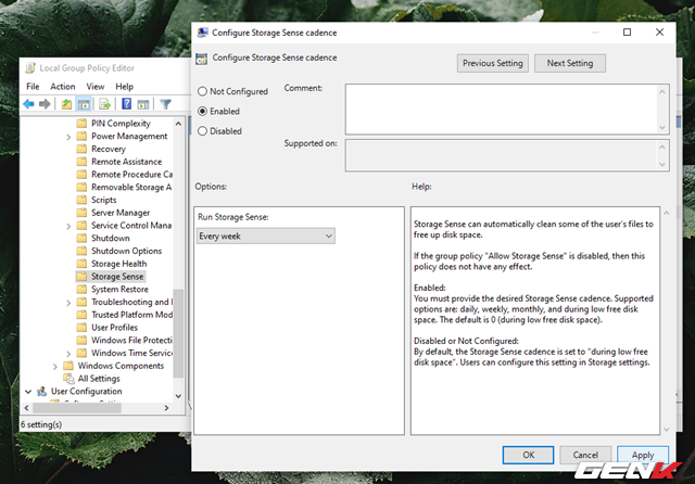 Cách kích hoạt và làm chủ tính năng tự động dọn dẹp trên Windows 10 May 2019 - Ảnh 10.
