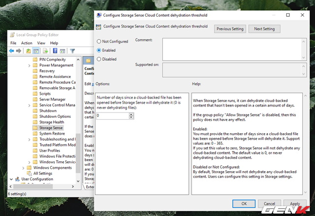 Cách kích hoạt và làm chủ tính năng tự động dọn dẹp trên Windows 10 May 2019 - Ảnh 12.
