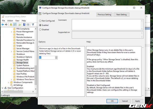 Cách kích hoạt và làm chủ tính năng tự động dọn dẹp trên Windows 10 May 2019 - Ảnh 17.