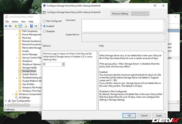 Cách kích hoạt và làm chủ tính năng tự động dọn dẹp trên Windows 10 May 2019 - Ảnh 19.