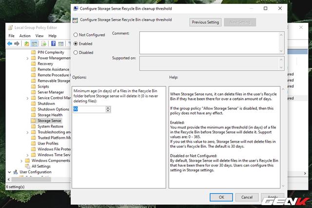 Cách kích hoạt và làm chủ tính năng tự động dọn dẹp trên Windows 10 May 2019 - Ảnh 20.