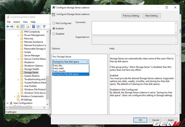 Cách kích hoạt và làm chủ tính năng tự động dọn dẹp trên Windows 10 May 2019 - Ảnh 9.