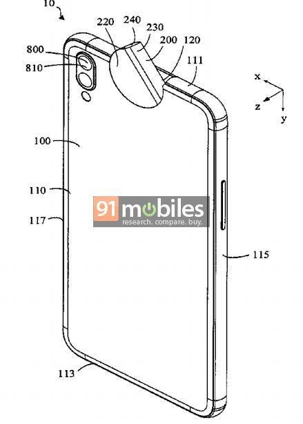 Sáng chế mới cho thấy OPPO sắp ra mắt smartphone với camera xoay lật độc đáo - Ảnh 2.
