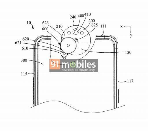 Sáng chế mới cho thấy OPPO sắp ra mắt smartphone với camera xoay lật độc đáo - Ảnh 3.