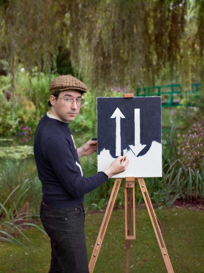 Góc rảnh rỗi: Anh họa sĩ chuyên đến điểm du lịch nổi tiếng chỉ để vẽ lại họa tiết trên áo mình - Ảnh 7.