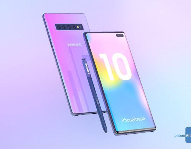 Galaxy Note 10 phiên bản thường sẽ có dung lượng pin 3400mAh - Ảnh 1.