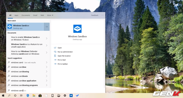 Cách kích hoạt và sử dụng Windows Sandbox trên Windows 10 May 2019 - Ảnh 10.