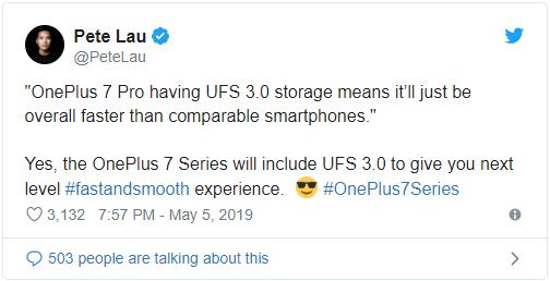 OnePlus 7 sẽ được trang bị bộ nhớ trong UFS 3.0 cực nhanh mà đến Galaxy S10 còn chưa có - Ảnh 3.