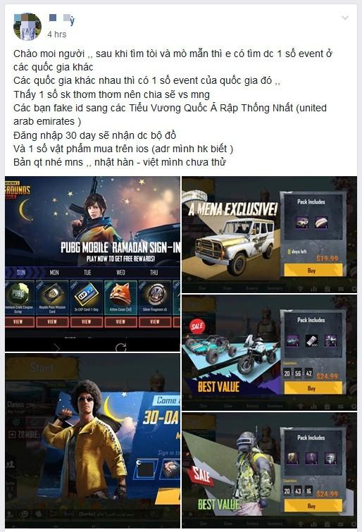 PUBG Mobile: Game thủ Việt tìm được cách nhảy server bản quốc tế, kiếm được không ít đồ ngon - Ảnh 1.