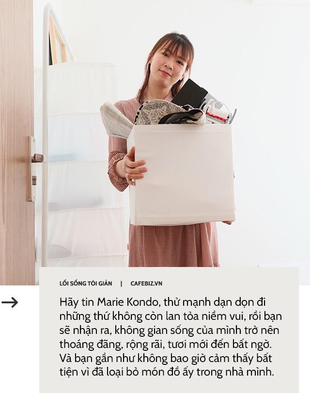 Học cách bố trí căn phòng của mình theo phong cách tối giản như Marie Kondo - Ảnh 5.