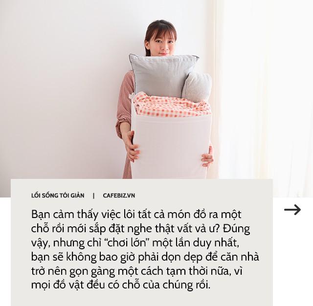 Học cách bố trí căn phòng của mình theo phong cách tối giản như Marie Kondo - Ảnh 9.