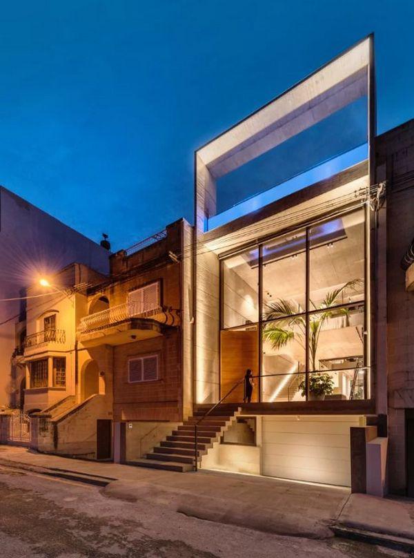 Ngắm kiến trúc nhà phố độc đáo với không gian hiện đại, có phòng tập thể dục, chiếu phim và hồ bơi trong suốt trên nóc nhà - Ảnh 18.