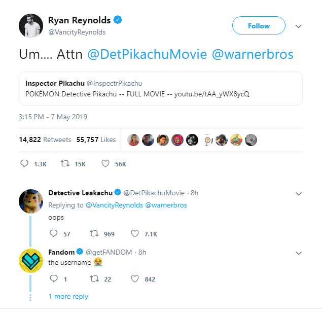 Bản leak đầy đủ của Detective Pikachu đã có mặt trên Youtube nhưng xem xong dễ bị bực - Ảnh 1.
