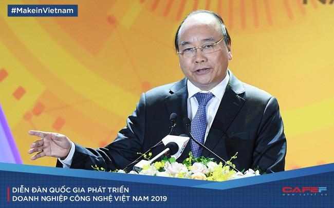 Thủ tướng: Doanh nghiệp công nghệ là hạt nhân để thực hiện khát vọng một dân tộc hoá rồng năm 2045 - Ảnh 1.
