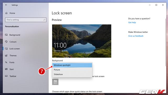 Cách khắc phục lỗi Windows Spotlight ngưng làm việc trong Windows 10 May 2019 - Ảnh 10.