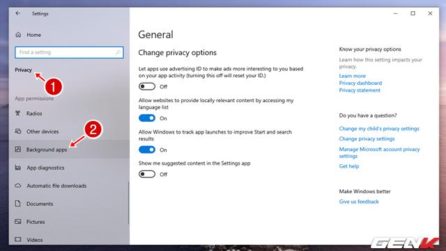 Cách khắc phục lỗi Windows Spotlight ngưng làm việc trong Windows 10 May 2019 - Ảnh 2.