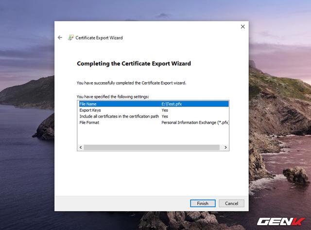 Cách sử dụng tính năng mã hóa EFS cho thư mục và tập tin trên Windows 10 May 2019 - Ảnh 14.