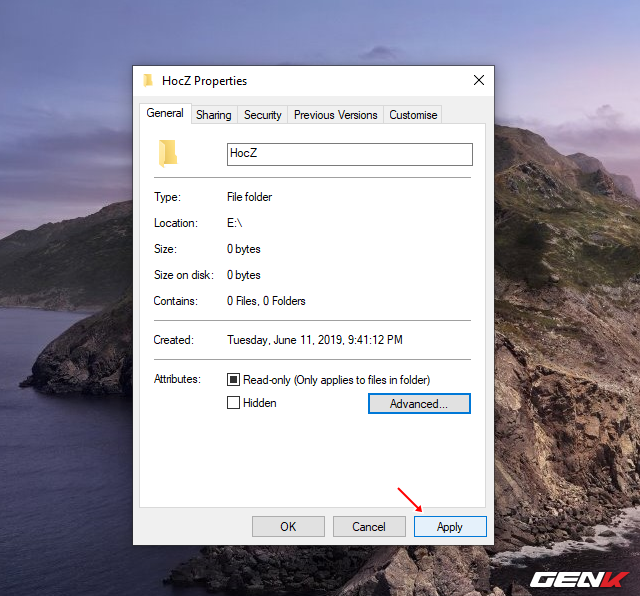 Cách sử dụng tính năng mã hóa EFS cho thư mục và tập tin trên Windows 10 May 2019 - Ảnh 5.