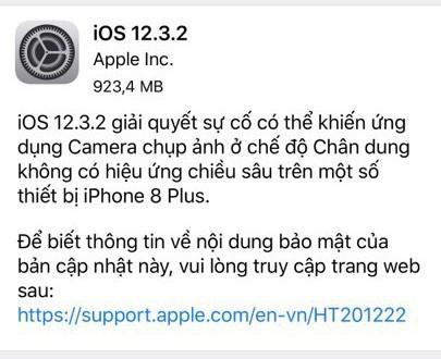 iOS 12.3.2 làm khốn khổ người dùng muốn lên đời iPhone mới - Ảnh 1.