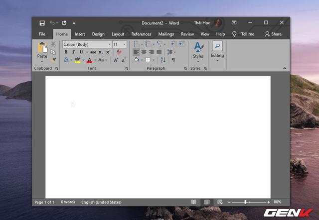 Cách thay đổi ngôn ngữ hiển thị của Microsoft Office 2019 - Ảnh 1.