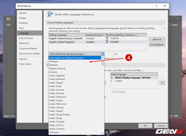 Cách thay đổi ngôn ngữ hiển thị của Microsoft Office 2019 - Ảnh 5.