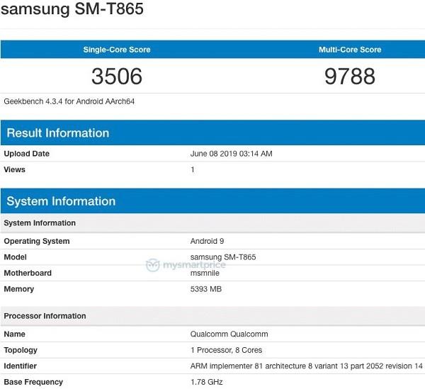 Samsung Galaxy Tab S5 sẽ đi kèm với bút S-Pen riêng, dùng chip Snapdragon 855 và có 6GB RAM - Ảnh 2.