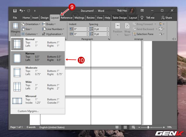 Cách tạo danh thiếp bằng Microsoft Word dành cho người không chuyên - Ảnh 14.