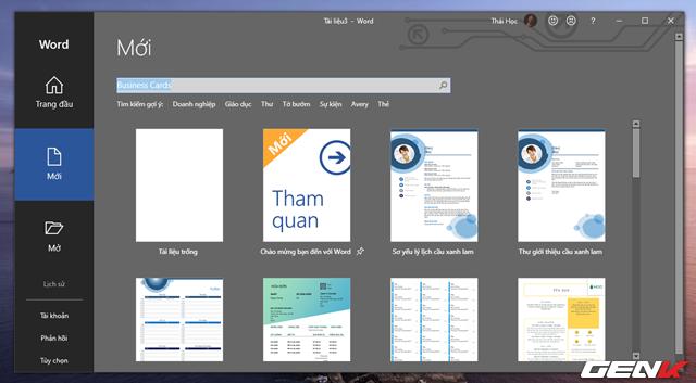 Cách tạo danh thiếp bằng Microsoft Word dành cho người không chuyên - Ảnh 2.