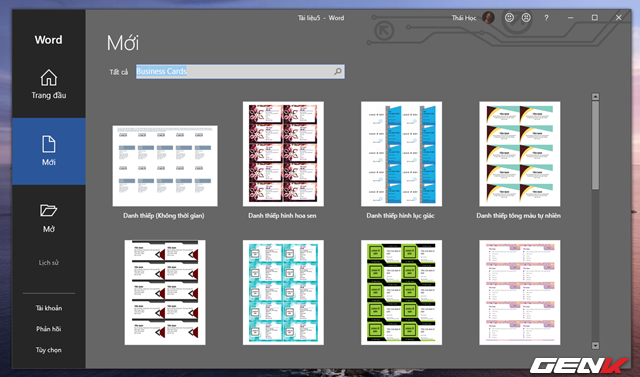 Cách tạo danh thiếp bằng Microsoft Word dành cho người không chuyên - Ảnh 3.