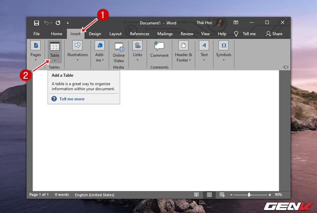Cách tạo danh thiếp bằng Microsoft Word dành cho người không chuyên - Ảnh 7.