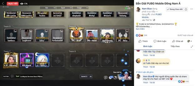 Nam Blue và cả loạt hot streamer bị khóa tài khoản ngay trong trận showmatch - Ảnh 4.