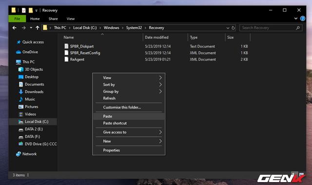 Cách tự tạo phân vùng Recovery để khắc phục các sự cố khi cần trên Windows 10 - Ảnh 12.